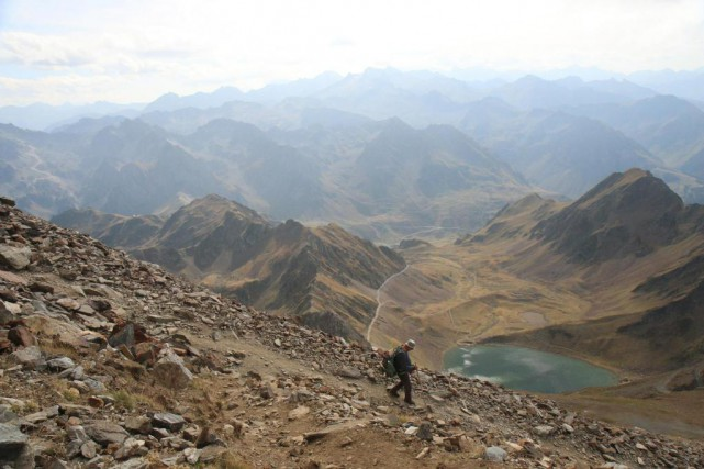 La randonnée jusqu'au pic du Midi de Bigorre... (PHOTO SYLVAIN SARRAZIN, LA PRESSE)