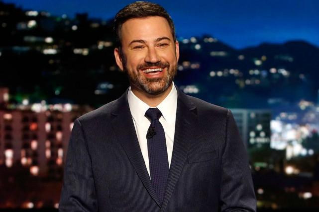 Jimmy Kimmel... (PhotoRandy Holmes, Archives Associated Press)