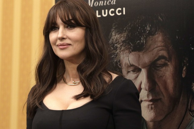 Monica Bellucci à la première d'On The Milky... (PHOTO AP)