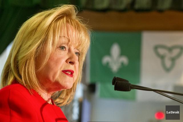 Madeleine Meilleur serait sous peu nommée commissaire au... (Martin Roy, archives Le Droit)