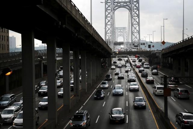 L'État de New York est prêt à accueillir des essais et des démonstrations de... (ARCHIVES AP)