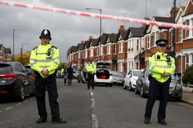 Le niveau d'alerte antiterroriste en Grande-Bretagne est classé... (PHOTO REUTERS)