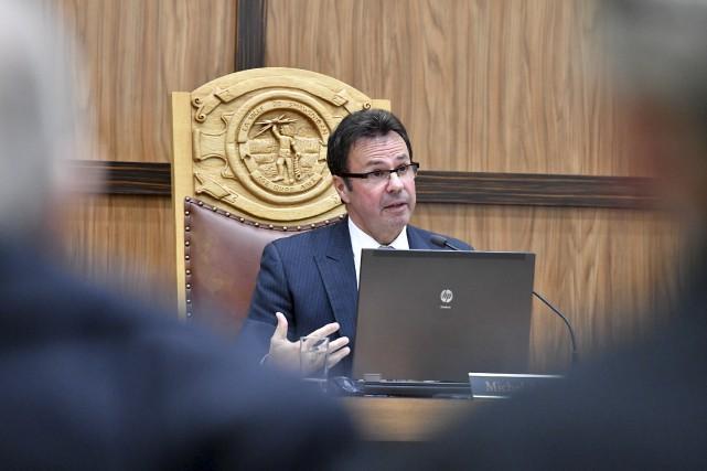 Le maire de Shawinigan, Michel Angers, aimerait bien... (Stéphane Lessard)