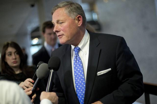 Le sénateur Richard Burr a fait savoir que... (PHOTO AP)