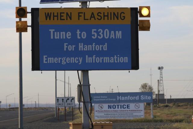 L'usine Hanford emploie environ 9000 personnes, dont la... (PHOTO AP)