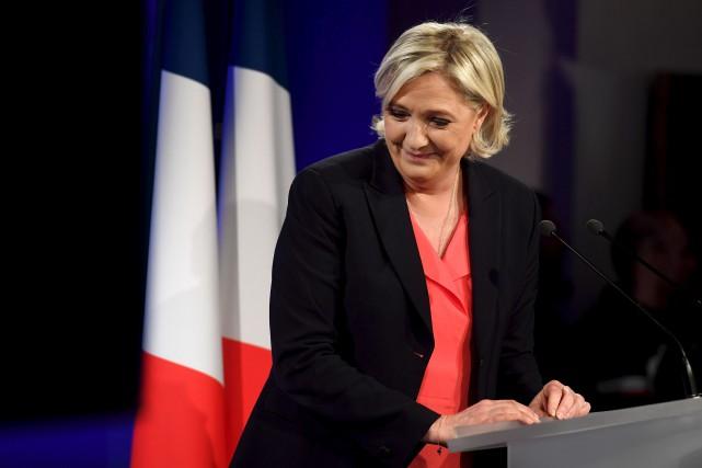 Marine Le Pen a obtenu 19,6 % des... (AFP, Alain Jocard)