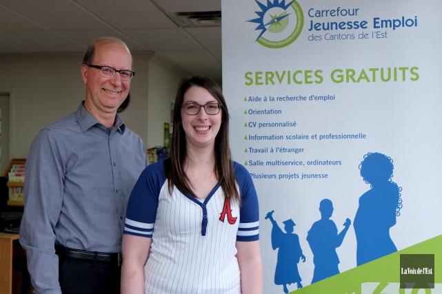 Le directeur général du Carrefour jeunesse emploi des... (Alain Dion, La Voix de l'Est)