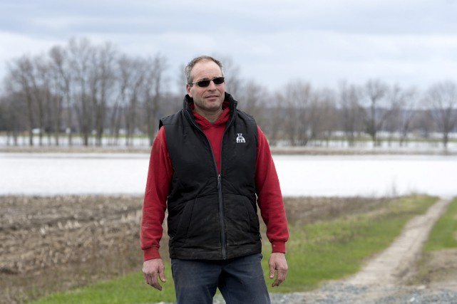 Le producteur agricole Claude Leduc doit composer avec... (Stéphane Lessard)