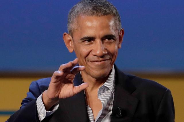 Barack Obama après son discours, lors d'un sommet... (AP, Luca Bruno)