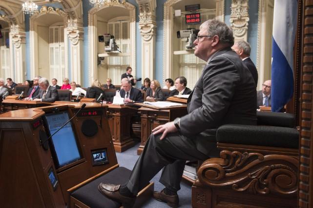 Si elle ne change pas, l'attitude des parlementaires... (Photo Jacques Boissinot, archives PC)
