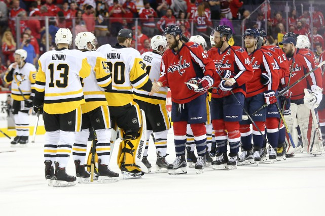 Les Penguins affronteront les Sénateurs en finale d'Association Est.... (Geoff Burke, USA TODAY Sports)
