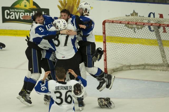 Les Sea Dogs de Saint John remportent la... (La Presse)