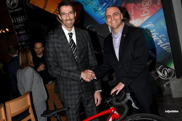 Mercredi, l'organisation a tenu son cocktail-bénéfice et son... (Photo Le Quotidien, Rocket Lavoie)