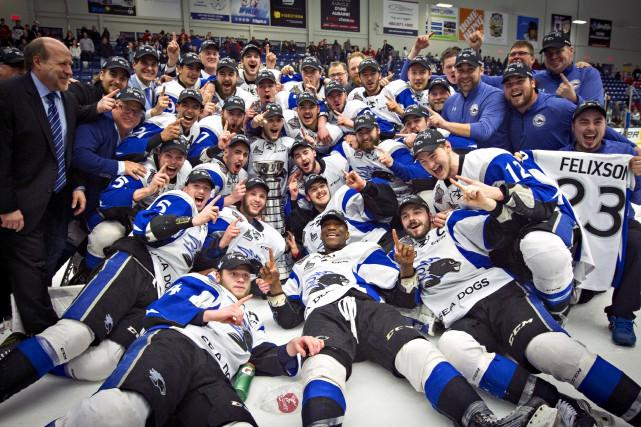Les Sea Dogs de Saint John ont remporté... (La Presse)