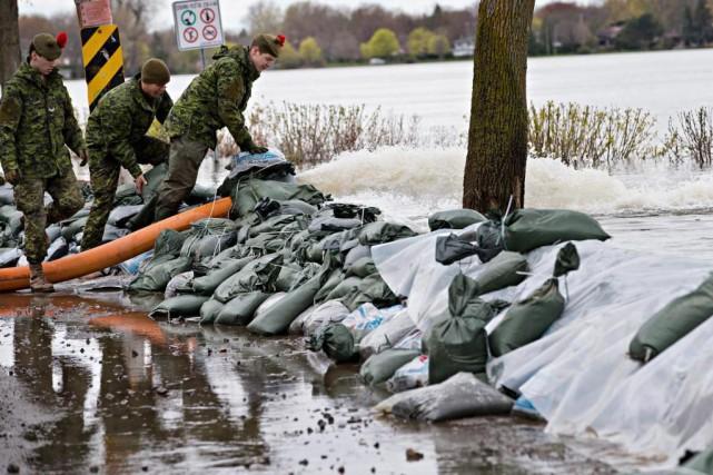 Le Québec est particulièrement mal préparé à faire... (Photo Patrick Sanfaçon, La Presse)