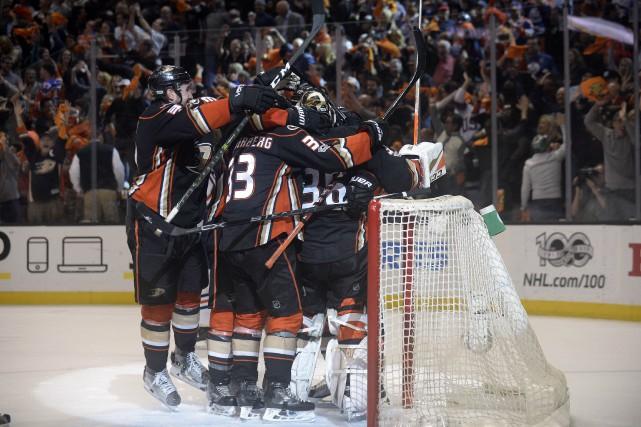 Les Ducks accueilleront maintenant les Predators de Nashville,... (Photo Gary A. Vasquez, USA Today Sports)