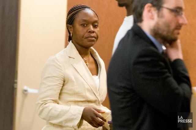 Gorette Masembua, 39ans, était accusée de voies de... (Photo Alain Roberge, La Presse)