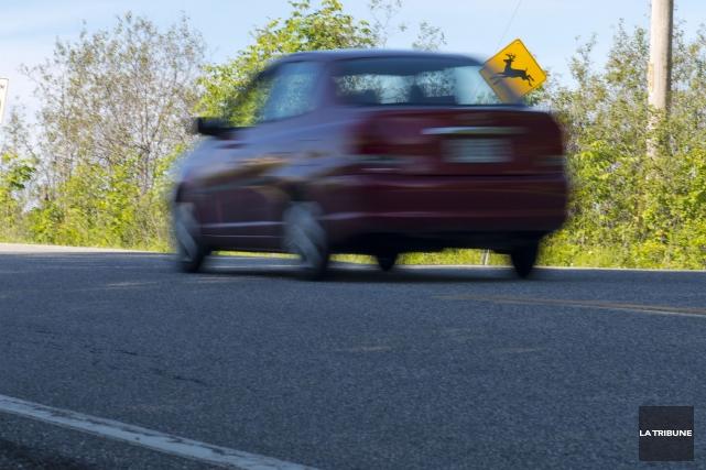 Pour avoir roulé à très haute vitesse dans une zone de 80 km/h, un conducteur... (Archives La Tribune)