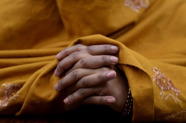 La Cour suprême indienne a débuté jeudi son examen de la légalité du divorce... (Photo Sajjad Hussain, archives Agence France-Presse)