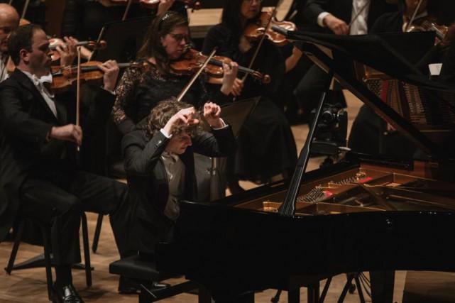 Le pianiste hongrois Zoltán Fejérvári... (PhotoBrent Calis, fournie par leConcours musical international de Montréal)