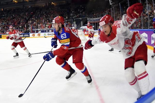 La Russie a inscrit une quatrième victoire consécutive au Championnat mondial... (PHOTO AFP)