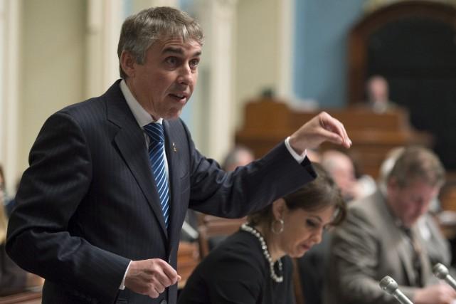 Jeudi, le député péquiste Nicolas Marceau a reproché... (La Presse canadienne, Jacques Boissinot)