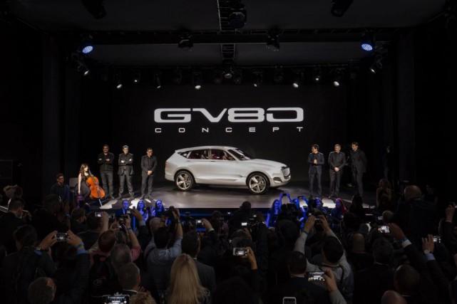 Genesis a présenté son prototype GV80 au Salon...