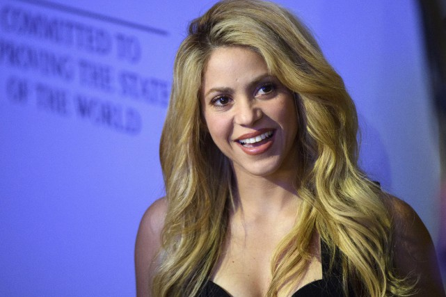 Shakira... (PHOTO ARCHIVES AP)