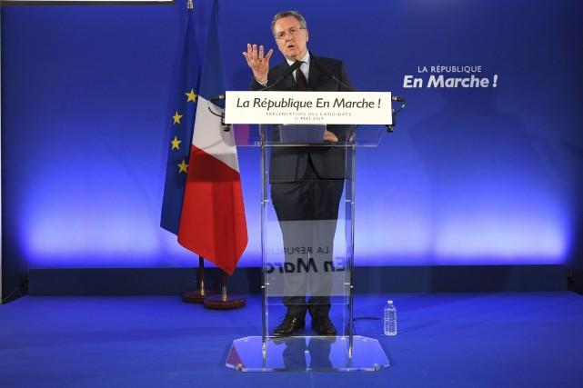 Le secrétaire général de La République en marche,... (AP, Eric Feferberg)