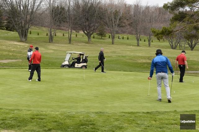 Le Club de golf Port-Alfred a accueilli ses... (Photo Le Quotidien, Jeannot Lévesque)