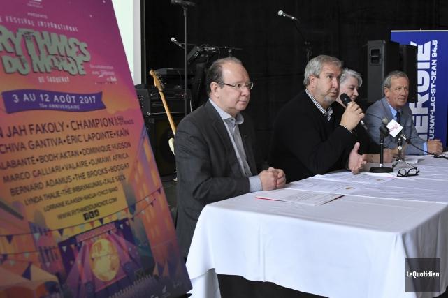 Gilles Grenon, directeur du développement économique régional chez... (Photo Le Quotidien, Michel Tremblay)