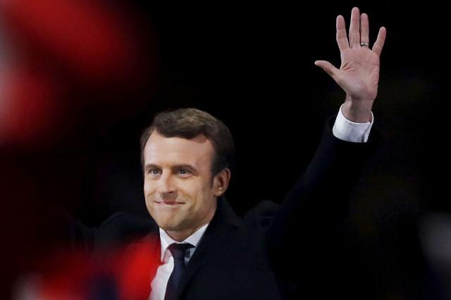 Selon Philippe Couillard, l'élection d'Emmanuel Macron à l'Élysée... (AFP, Patrick Kovarik)