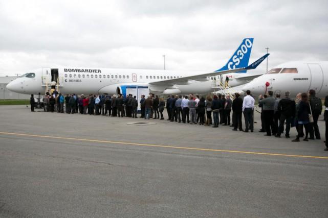 Le titre de Bombardier a grimpé de presque... (PHOTO FRANÇOIS ROY, LA PRESSE)