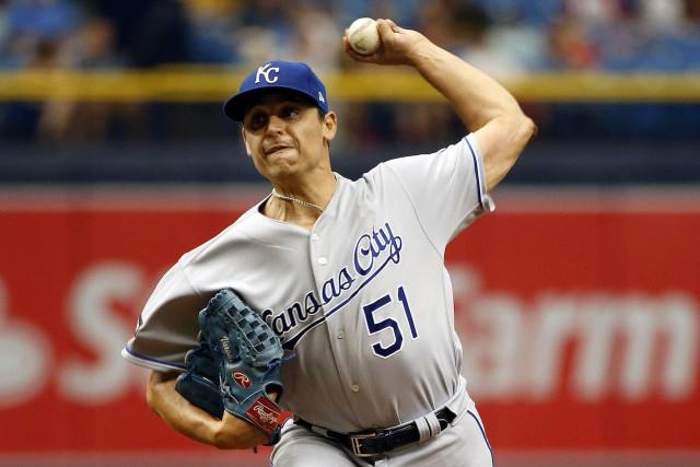 Jason Vargas... (Photo Kim Klement, USA TODAY Sports)