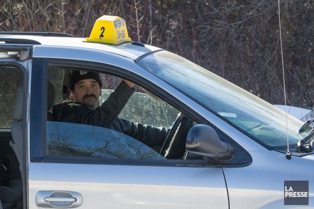 Le propriétaire de l'entreprise de taxi Northern Taxi... (PHOTO MARTIN TREMBLAY, ARCHIVES LA PRESSE)