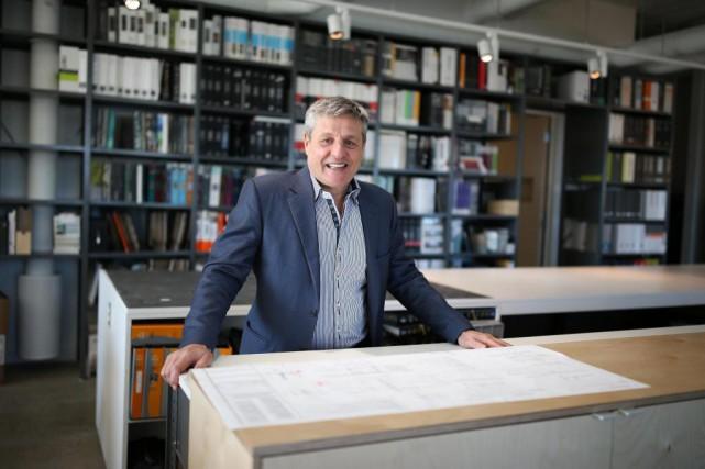 Louis Lemay, président de la firme d'architecture Groupe... (Photo Martin Chamberland, Archives La Presse)