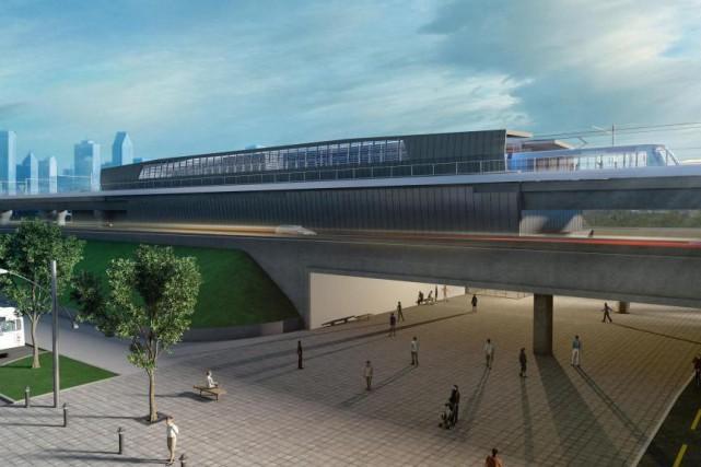 Le projet de Réseau électrique métropolitain doit s'étendre... (IMAGE FOURNIE PAR LA CAISSE DE DÉPÔT)