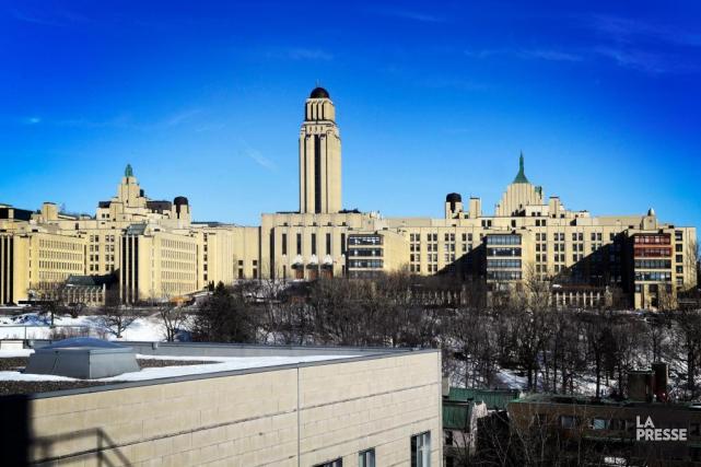 L'Université de Montréal.... (BERNARD BRAULT, ARCHIVES LA PRESSE)