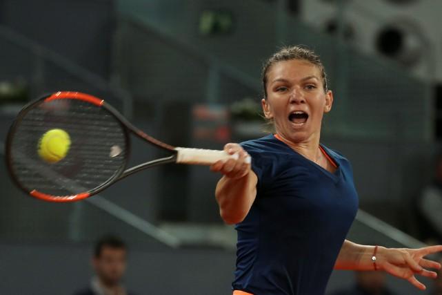 Simona Halep jouera sa première finale depuis celle... (Photo Sergio Perez, Reuters)