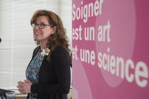 NicoleDubuc, professeure à l'École des sciences infirmières de... (Spectre Média, Frédéric Côté)
