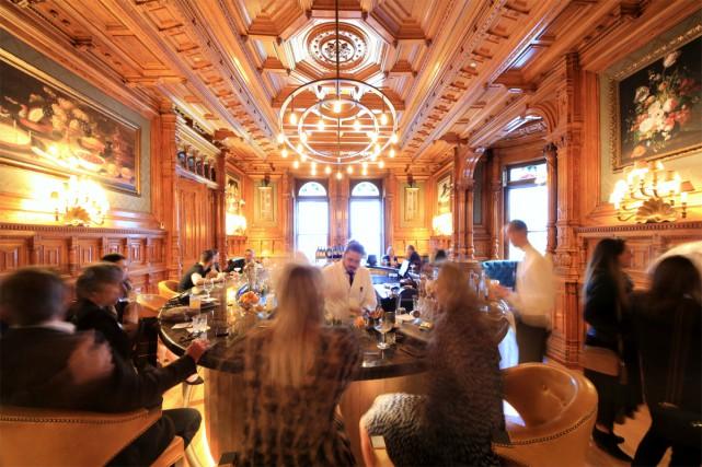 Établi dans le nouvel hôtel Mount Stephen, le... (Photo Cindy La, fournie par Bar George)
