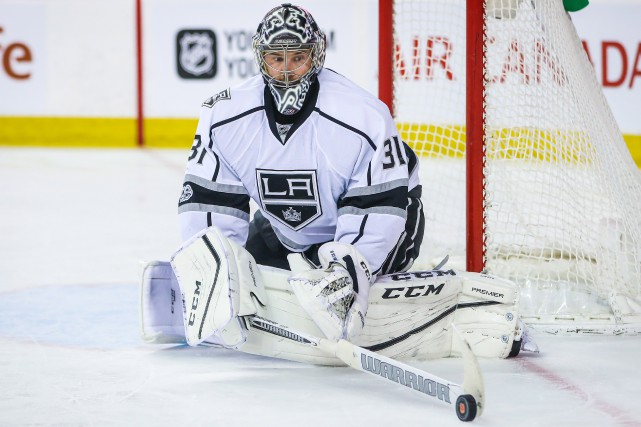 Ben Bishop a partagé la dernière campagne entre... (Photo Sergei Belski, USA Today Sports)