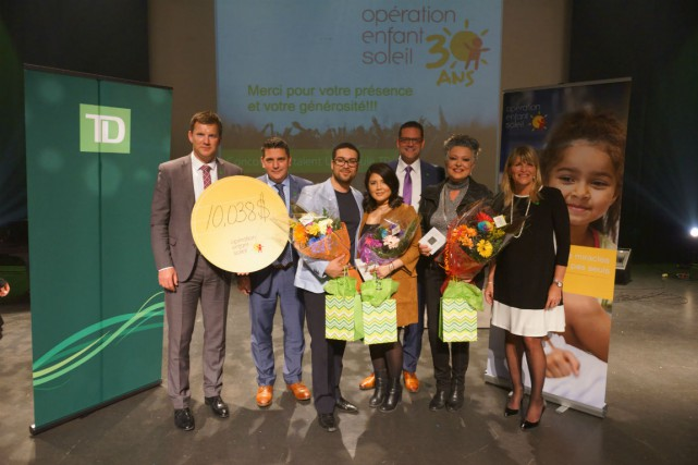 De gauche à droite: Stéphan Bourbonnais, Sylvain Corbeil,... (Photo fournie par TD)