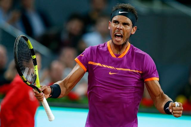 Rafael Nadalaffrontera NovakDjokovic en demi-finales.... (PHOTO Francisco Seco, ASSOCIATED PRESS)