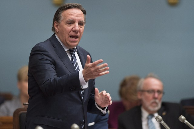 Le chef de la Coalition avenir Québec (CAQ),... (ARCHIVES LA PRESSE CANADIENNE)