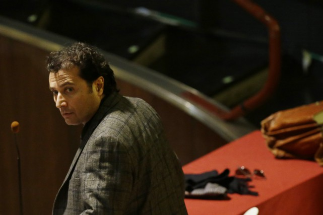 L'ex-capitaine du Costa Concordia Francesco Schettino lors de... (PHOTO GREGORIO BORGIA, ARCHIVES ASSOCIATED PRESS)