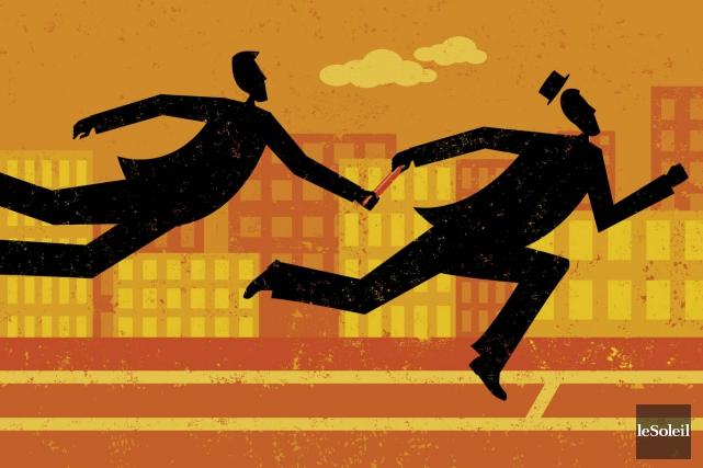 Reprendre une entreprise, c'est plus qu'une simple transaction.... (Infographie Le Soleil)