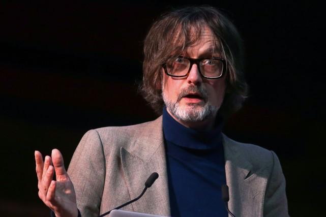 Jarvis Cocker à la conférence «Le Brexit et... (PHOTO AFP)