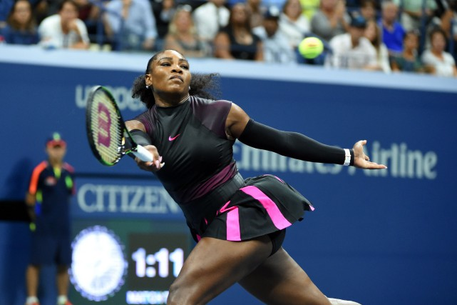Serena Williams... (PHOTO ARCHIVES AFP)