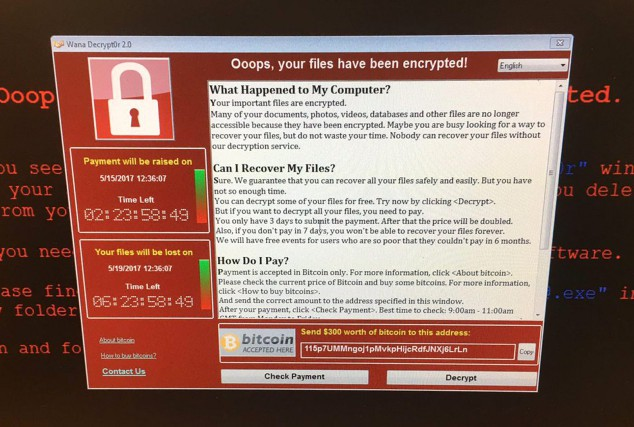 Le 12mai, une attaque informatique lancée via le... (PHOTO ARCHIVES ASSOCIATED PRESS)